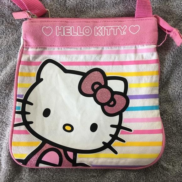 6bad6fb6adc4 Girls hello kitty purse cute
